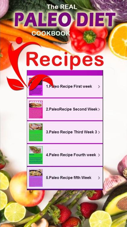 The Paleo Diet Recipes - 5 Week Diet Plan