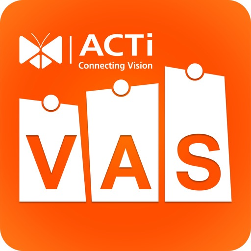 ACTi Vertical Application Suite iOS App