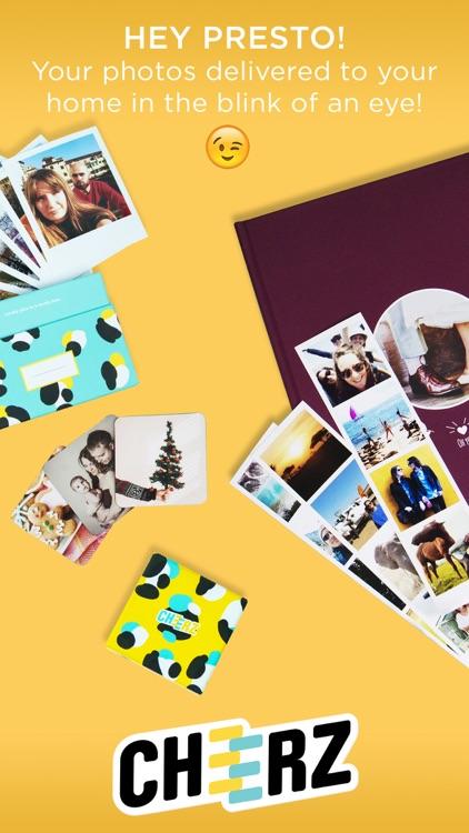 CHEERZ: Photo Printing screenshot-4
