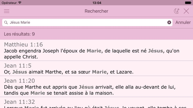 La Bible Catholique pour la Femme. The Catholic Audio Women´s Bible in French screenshot-3