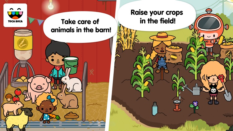 Toca Life: Farm screenshot-0