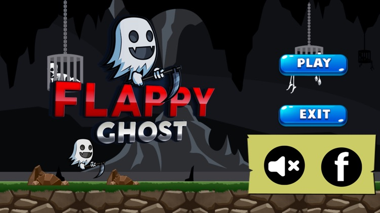 Flappy Ghost Free Game For Kids screenshot-3