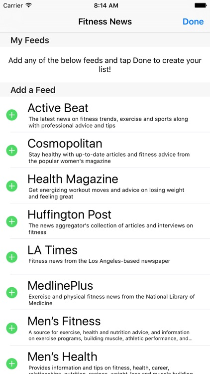 Fitness News - Exercise and Live Healthy! screenshot-4