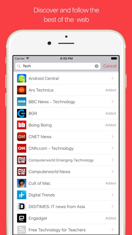 NewsFlash RSS Reader - Discover, Read & Share the best of the Web screenshot-4
