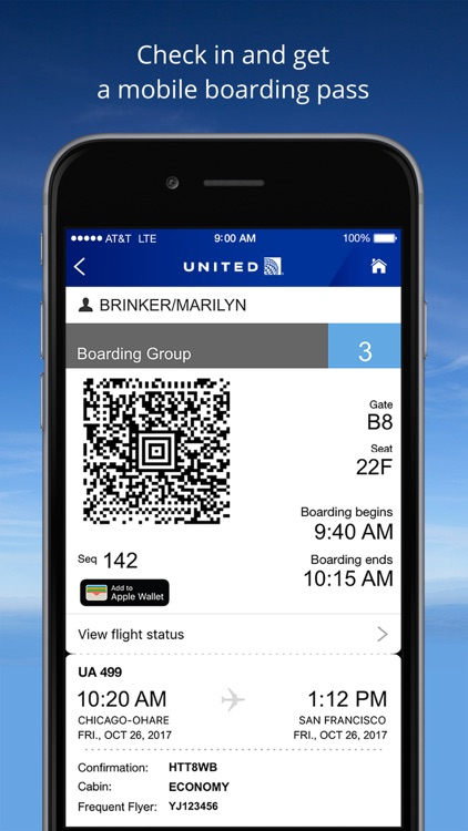 United Airlines screenshot-2