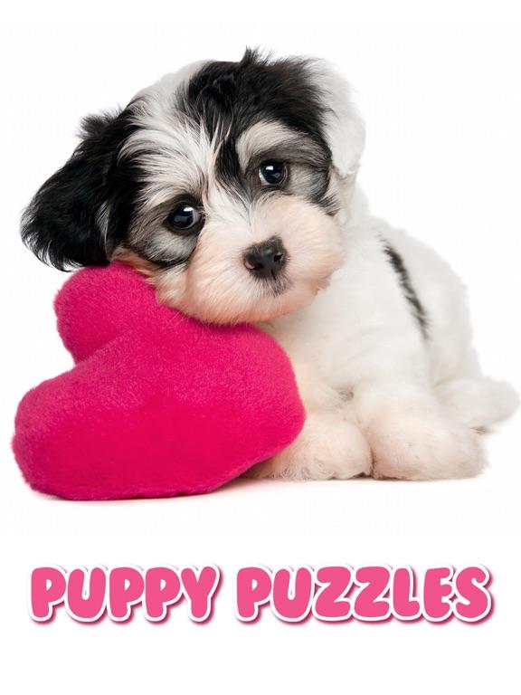 Пазлы Игра Щенки и Собачки на iPad