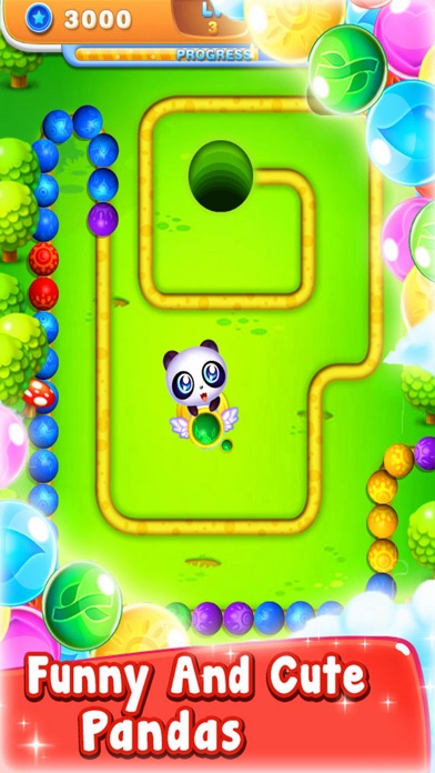 Marble Bear Play - Puzzle Ball screenshot one