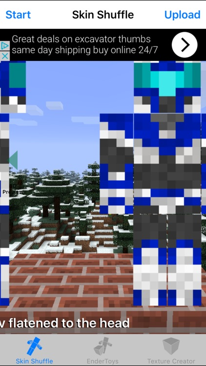 Skin Shuffler for Minecraft Game Textures Skins
