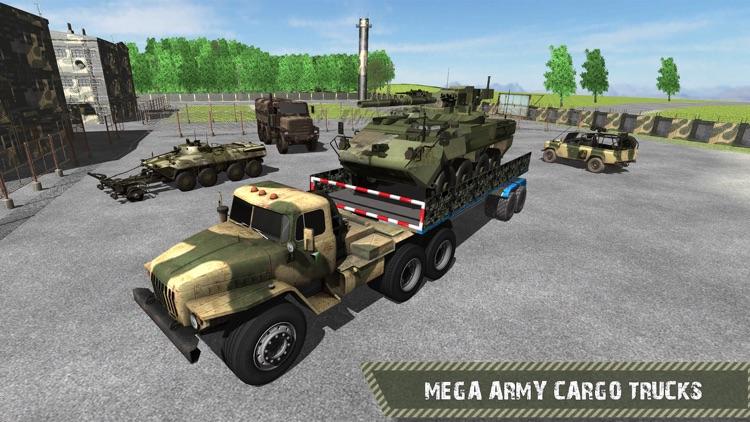 Army Cargo Truck Driver Transporter 2016 screenshot-4