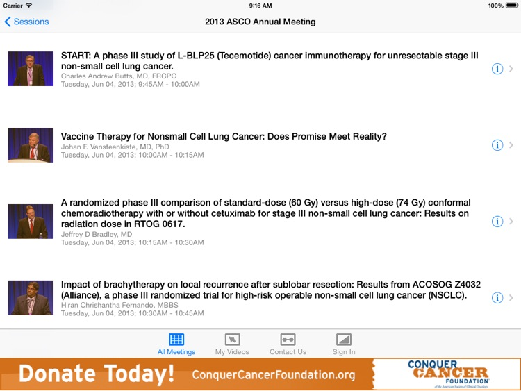 ASCO iMeeting screenshot-3