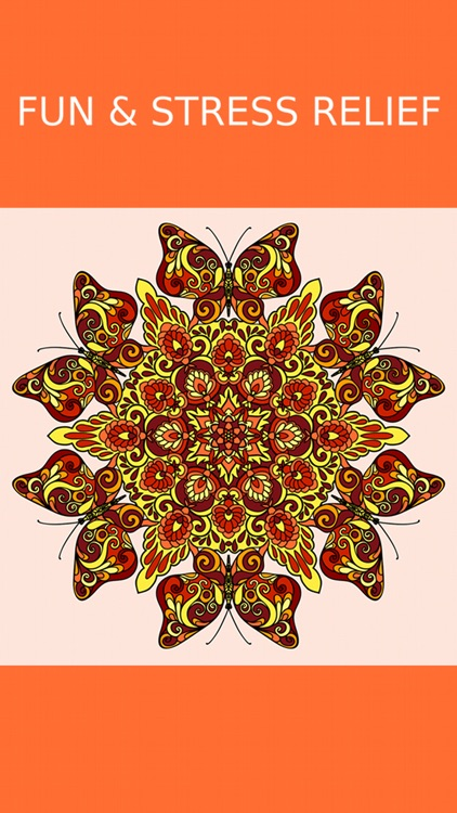 Mandala Coloring Book Adult.s Calm Color Therapy screenshot-3