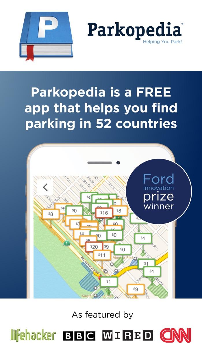 Parkopedia Parking Screenshot