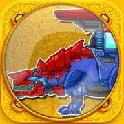 免费恐龙拼图游戏17:恐龙变形玩具智力游戏大全