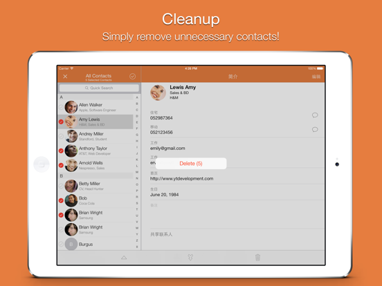 Screenshot #5 for Cleaner Pro .