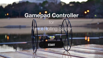 Gamepad Controller for Rolling Spider