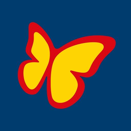 Schmetterling Travelbox