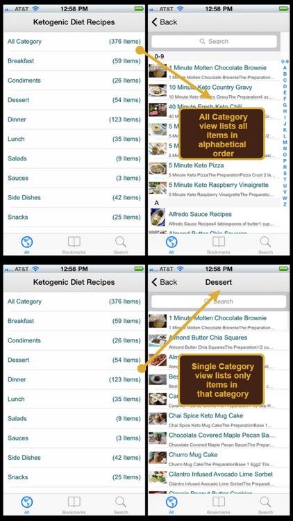 Ketogenic Diet Recipes Plus+ screenshot-3