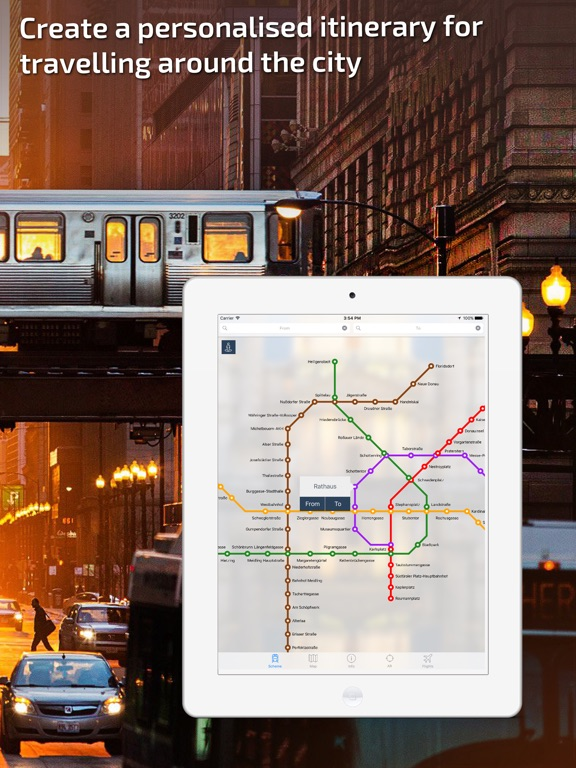 Vienna U-Bahn Guide and Route Planner-ipad-1