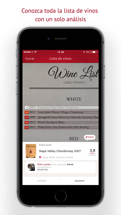 Screenshot for Vivino in Spain App Store