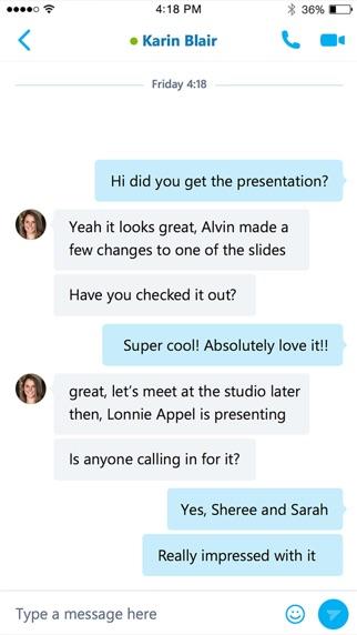 Baixar Skype para Empresas para Android