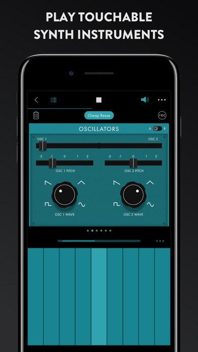 Groovebox - Beats & Synths Music Studio Screenshot 4