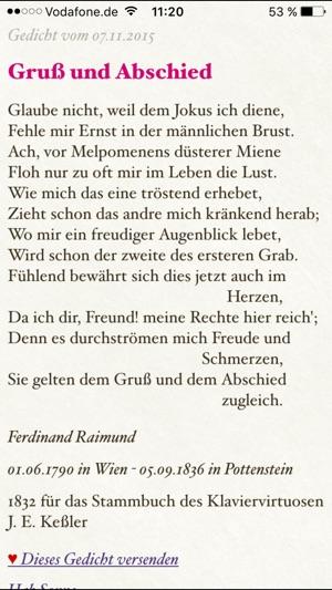 ein gedicht