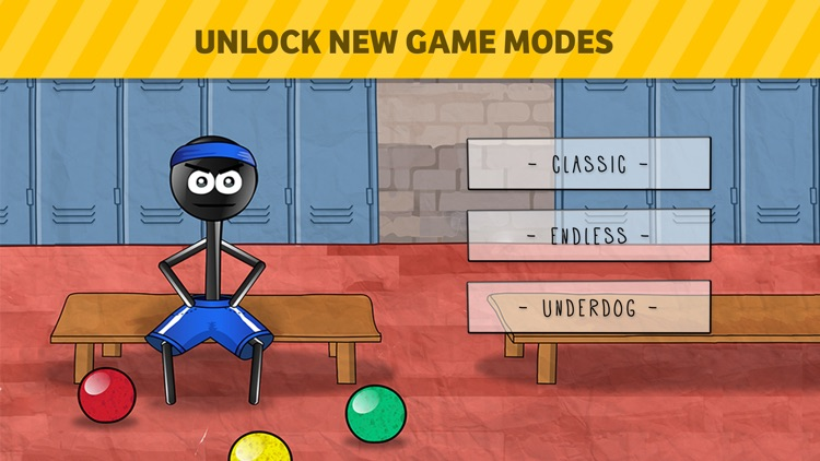 Stickman 1-on-1 Dodgeball screenshot-4