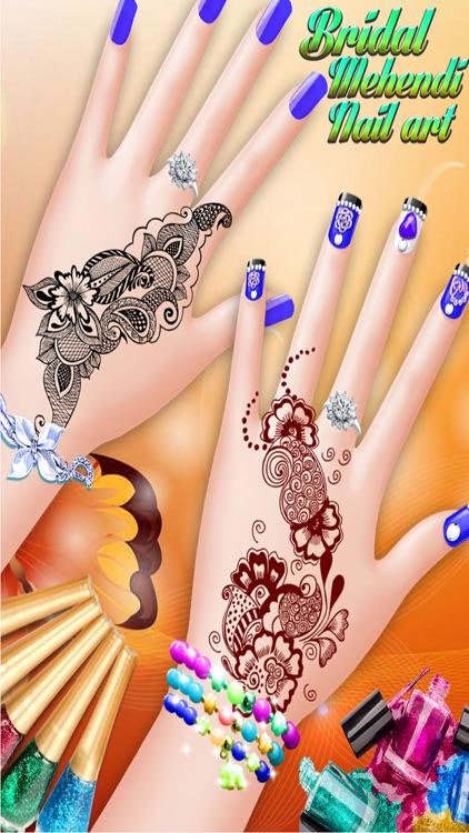 Bridal Mehndi And Nail Art Manicure Mehndi Designer Games For