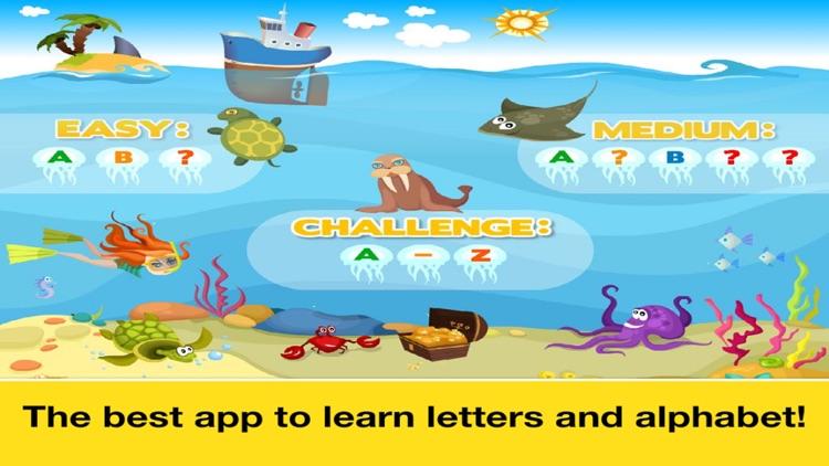 Letter quiz • Alphabet School & ABC Games 4 Kids screenshot-4