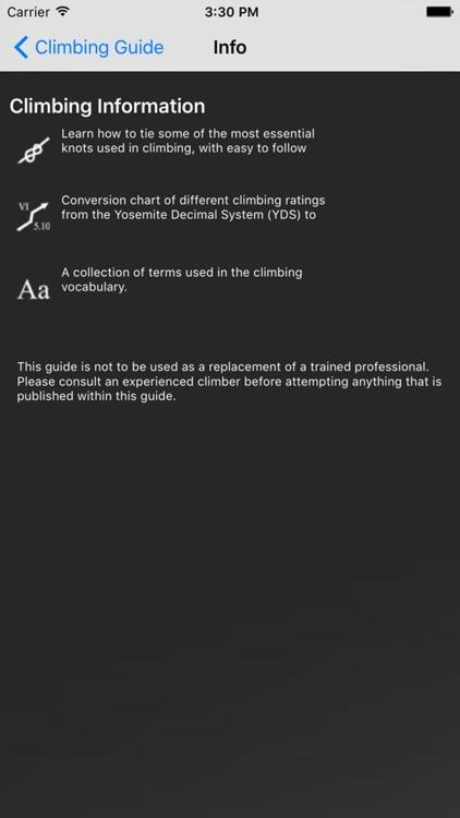 Climbing Guide screenshot-4