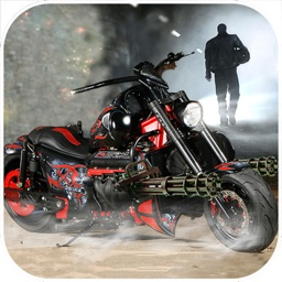 Gunship Bike Shooter : 3D Free Highway Attack