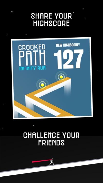 Crooked Path: Infinity Run screenshot-4