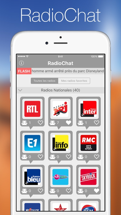 France Radio Chat screenshot-0