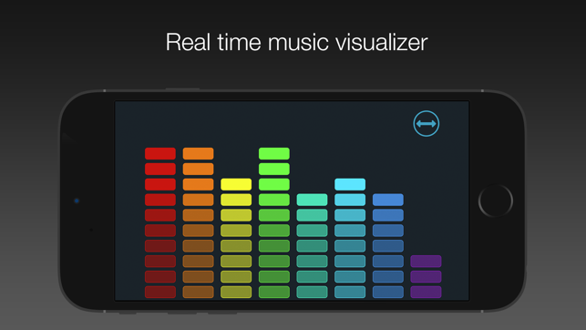 Visualizor - Real time music visualizer