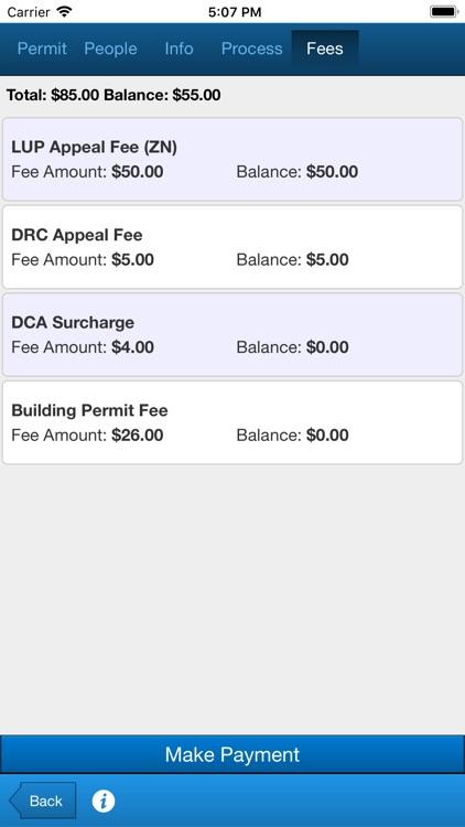 AMANDA Contractor Center screenshot-5