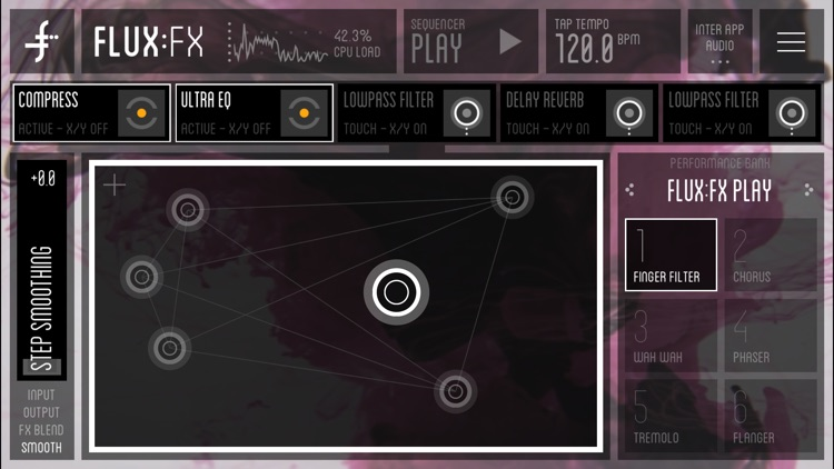 FLUX:FX play - the professional audio multi-effects engine by Adrian Belew