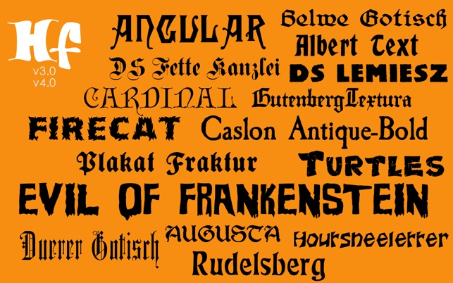 Halloween Fonts: Free Commercial Use Holiday Fonts on the