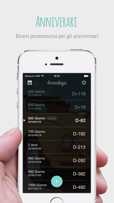 Screenshot for Lovedays - D-Day for Couples in Italy App Store