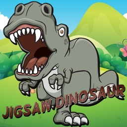 Jigsaw Puzzle Dinosaur Magic Board Fun for Kids