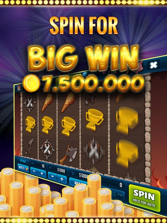 Vikings Clash Casino Slot Game Screenshot