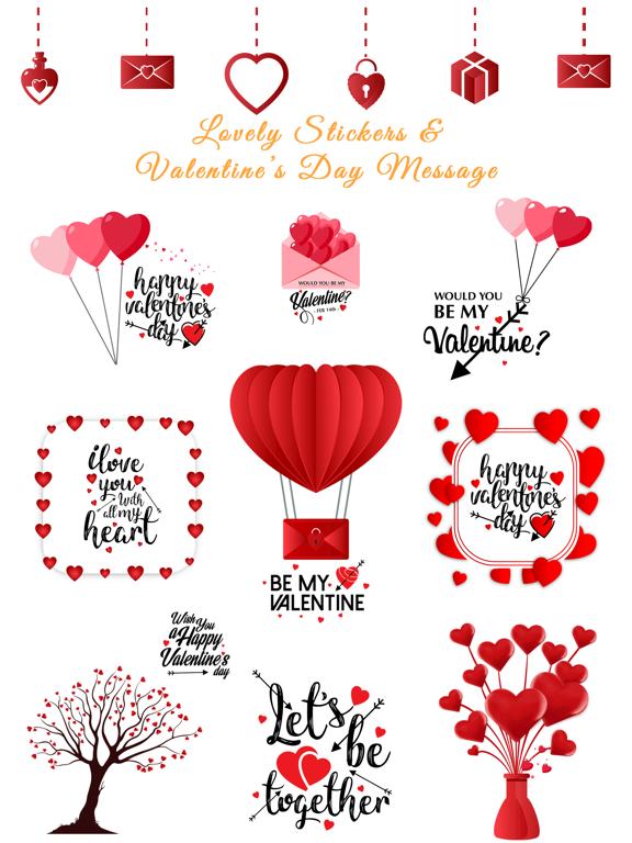 Love Stickers Valentine's Days screenshot 6