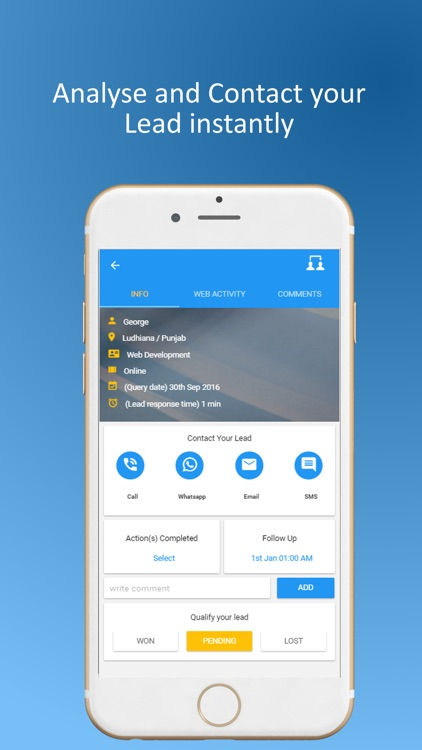 Clipbots: Lead Management App