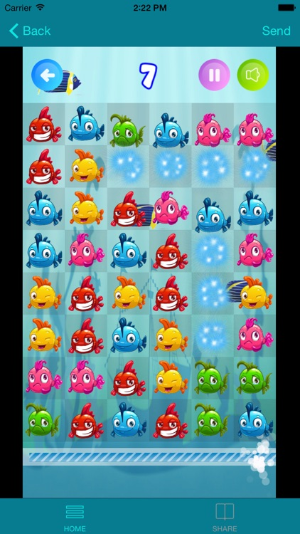 Fish best crush mania by clement lau for Best fishing apps for iphone