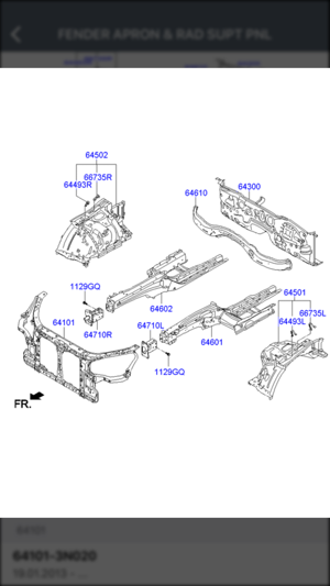 Hyundai Car Parts - ETK Parts Diagrams on the App Store