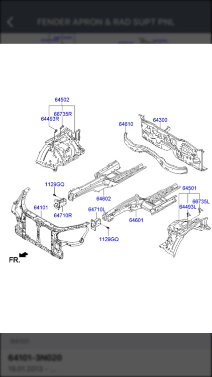 Hyundai Car Parts - ETK Parts Diagrams screenshot-3