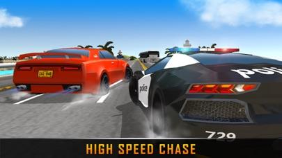 警察车司机追逐真实生活强盗车 App 截图