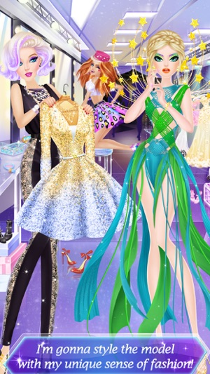 Fashion show dress up for girls