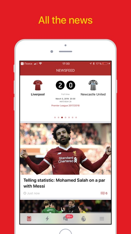 Liverpool Live – Goals & News. screenshot-0