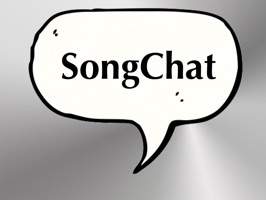 SongChat animation stickers (designed by Sara Bollen) are 12 animated song text snippets
