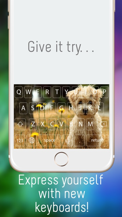 Color OkKeys - Customize your keyboard, new keyboard design & backgrounds screenshot-3